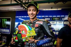MotoGP | Gp Misano: Il casco speciale di Valentino Rossi [VIDEO]