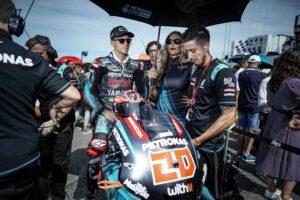 "MotoGP   Gp Aragon: Fabio Quartararo: ""La battaglia con Marquez mi ha dato fiducia"""