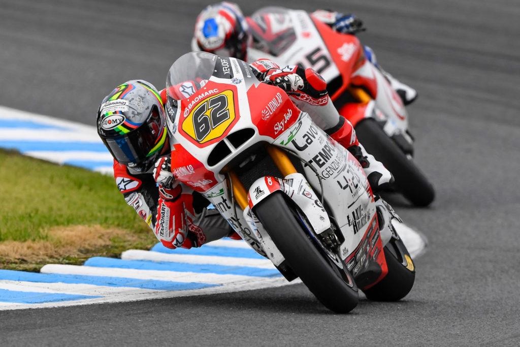 """Moto2   GP Giappone Gara: Manzi, """"Molto contento del risultato di oggi"""""""