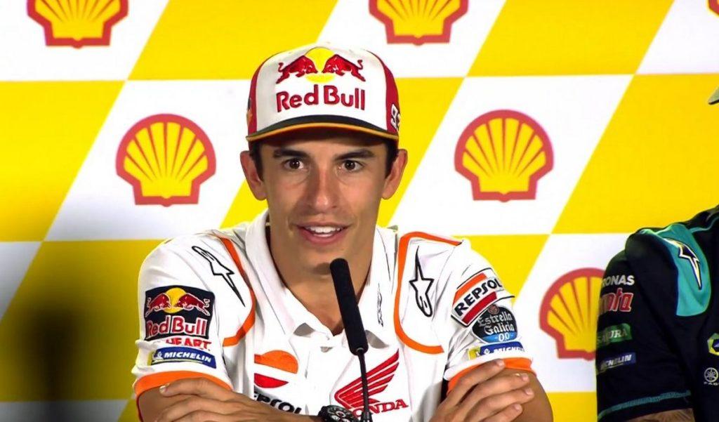 """MotoGP   Gp Malesia Conferenza Stampa: Marc Marquez, """"Siamo in un bel momento, il feeling è ottimo"""""""