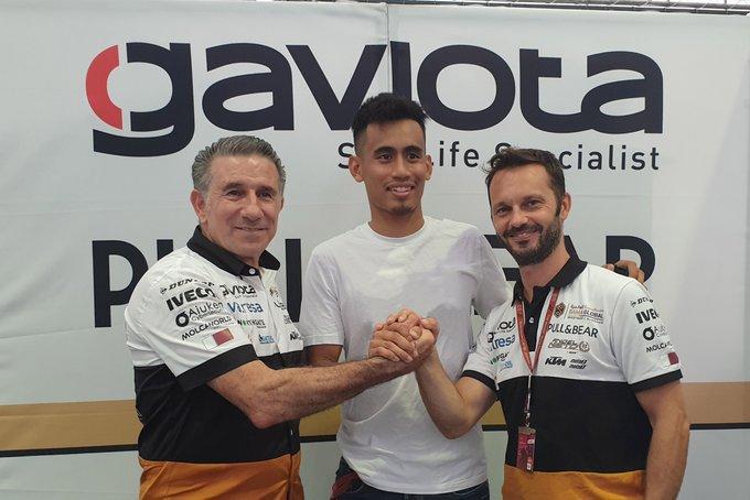 Moto2   Hafizh Syahrin nel team Angel Nieto dal 2020