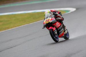 Moto3 | Gp Australia FP1: Arbolino svetta sul bagnato e precede Dalla Porta