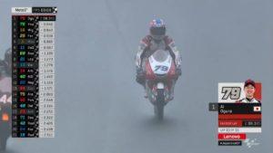 Moto3 | Gp Giappone FP3: Ogura svetta sul bagnato