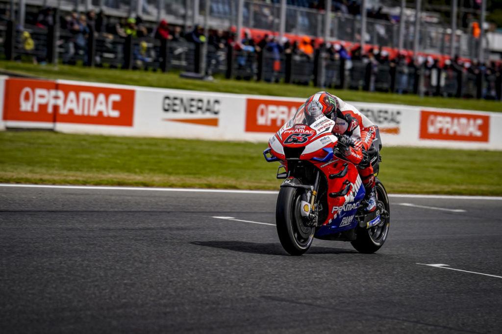 "MotoGP | Gp Australia Qualifiche: Francesco Bagnaia, ""Stavo per cadere come Oliveira"""