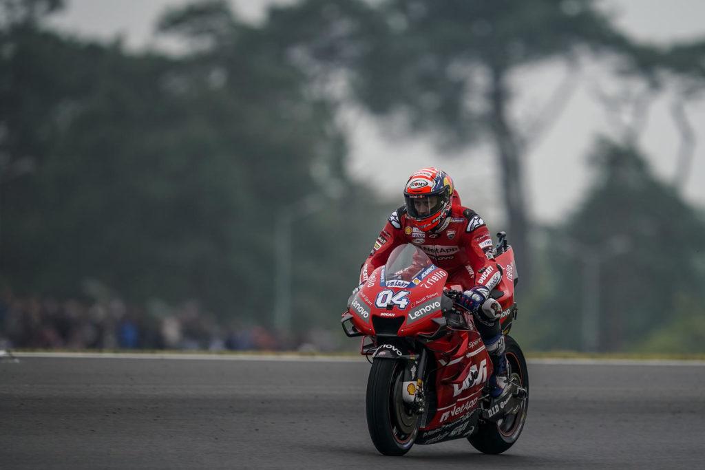 MotoGP | Gp Thailandia FP3: Pista umida, Dovizioso il più veloce