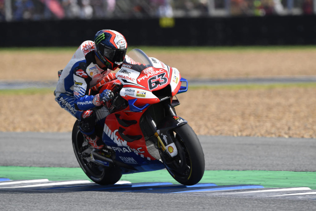 "MotoGP | Gp Thailandia Gara: Francesco Bangnaia, ""E' stata una gara difficile"""