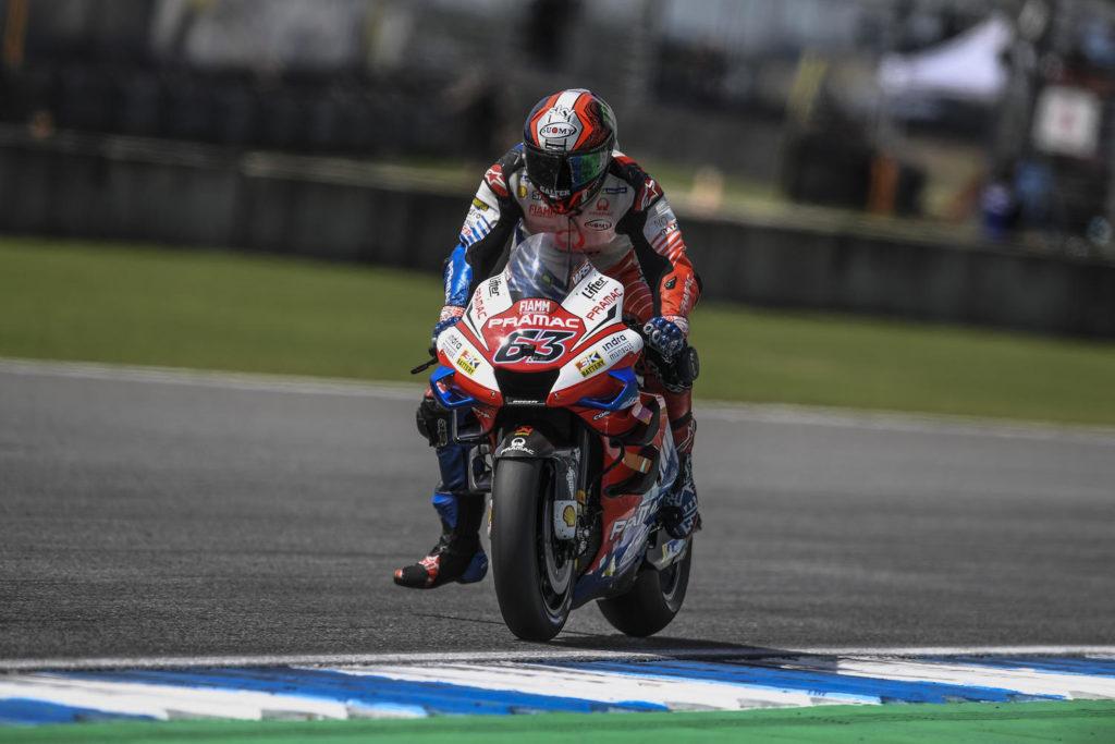 "MotoGP | Gp Thailandia Qualifiche: Francesco Bagnaia, ""Errore da rookie"""