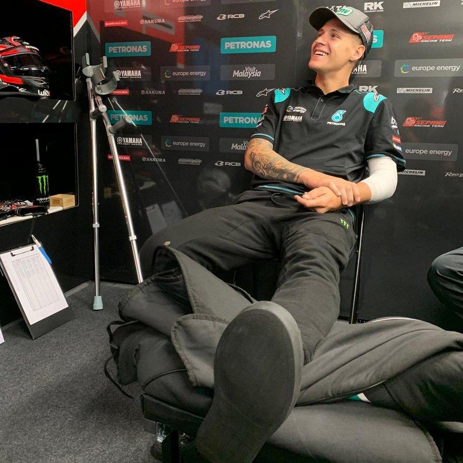 "MotoGP | Gp Australia Day 1: Fabio Quartararo, ""E' stata una brutta caduta"" [VIDEO]"