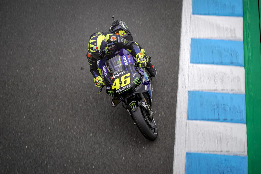 """MotoGP   Gp Giappone Day 1: Valentino Rossi, """"Oggi andavo forte, ora vedremo il meteo"""" [VIDEO]"""