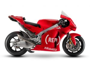 MotoGP | GP Valencia, Aprilia in pista con la livrea RED