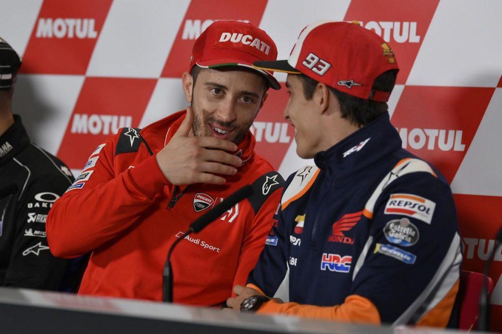 MotoGP 2019: Ducati, Dovizioso confida nella pioggia per Valencia