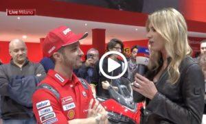 """MotoGP   Andrea Dovizioso: """"Vogliamo vincere il Mondiale"""" [VIDEO]"""