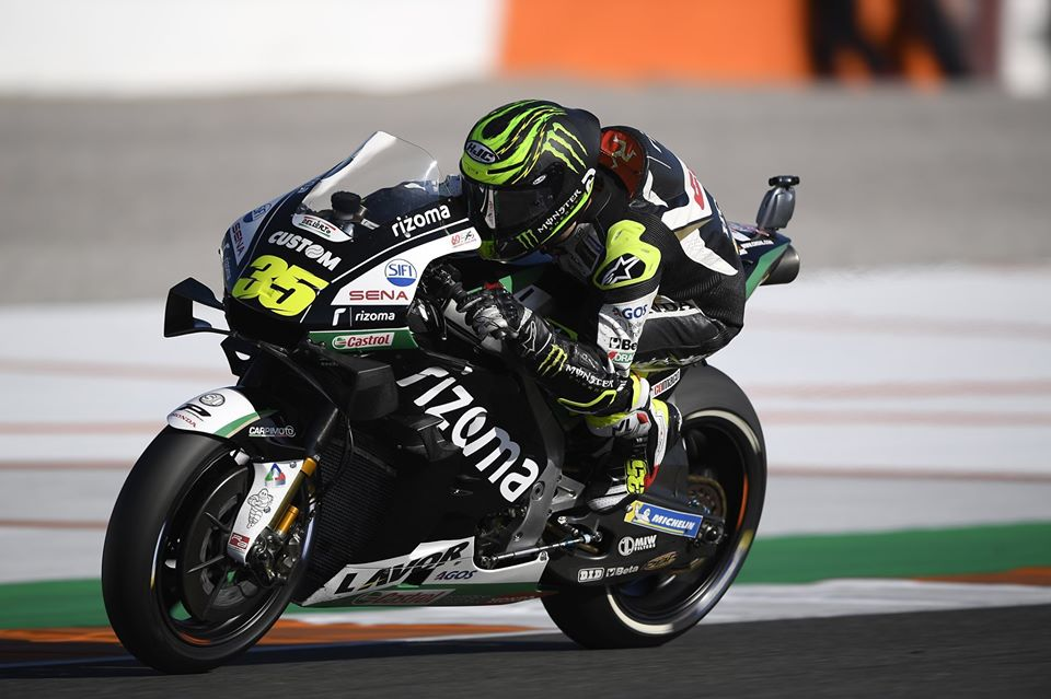 "MotoGP | Gp Valencia Gara: Cal Crutchlow, ""Deludente chiudere così"""