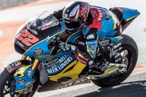 Test Valencia | Prima giornata di lavoro per Moto3 e Moto2