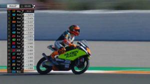 Moto3 | Gp Valencia Qualifiche: Prima pole in carriera per Andrea Migno