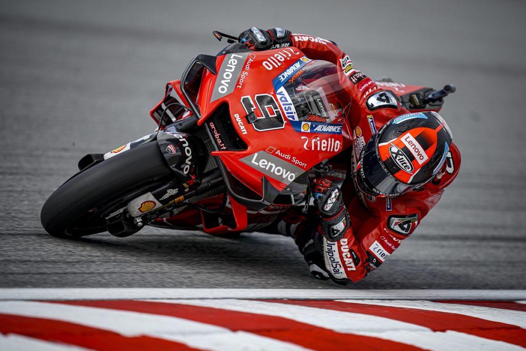 """MotoGP   Gp Malesia Gara: Petrucci, """"E' stata un'altra gara molto difficile"""""""