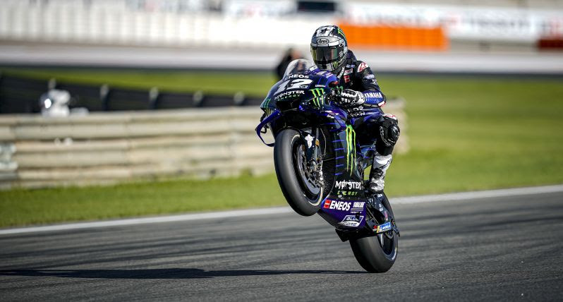 "MotoGP | Gp Valencia Day1: Maverick Vinales ""Sono abbastanza felice"" [VIDEO]"