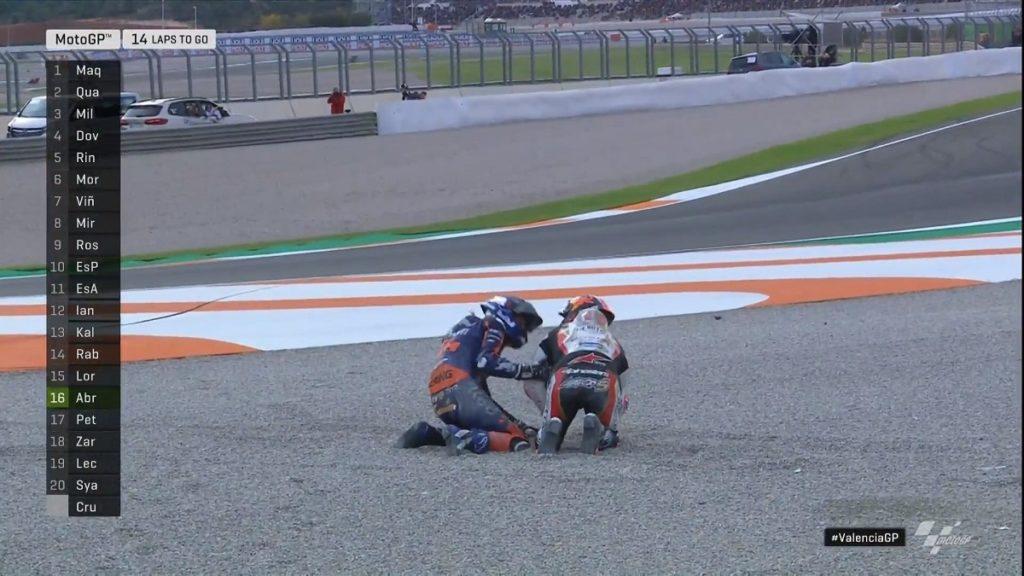 """MotoGP   Gp Valencia Gara: Zarco, """"L'unica possibilità al momento è la Moto2″[VIDEO]"""