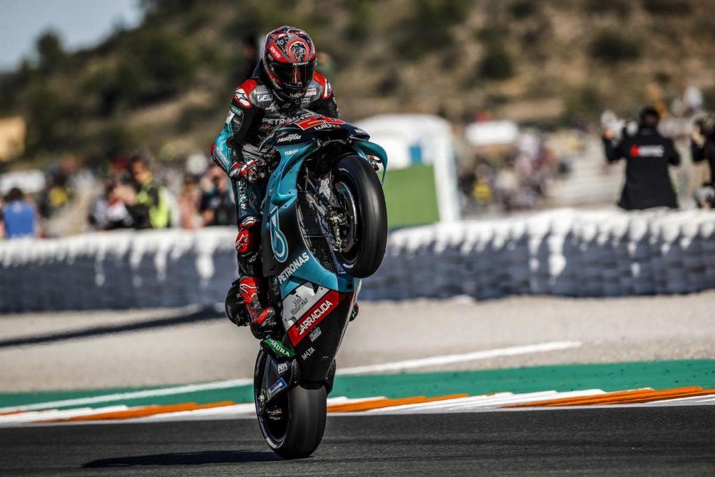 """MotoGP   Gp Valencia Gara: Fabio Quartararo, """"Stagione perfetta"""""""