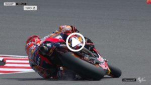 "MotoGP | Gp Malesia Day 1: Marc Marquez, salvataggio da ""paura"" [VIDEO]"