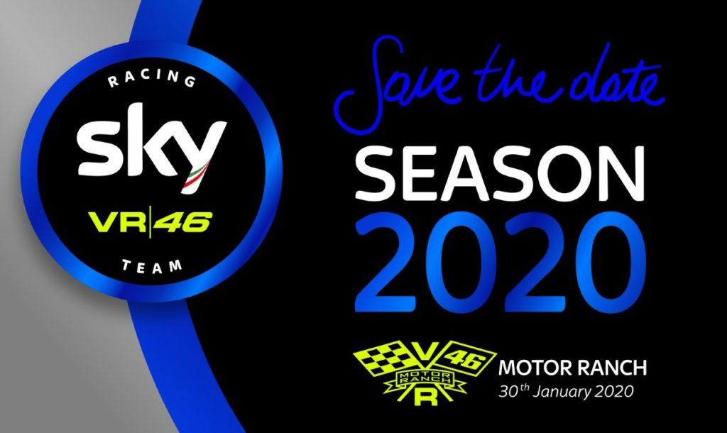 Lo Sky Racing Team VR46 sarà presentato il 30 gennaio
