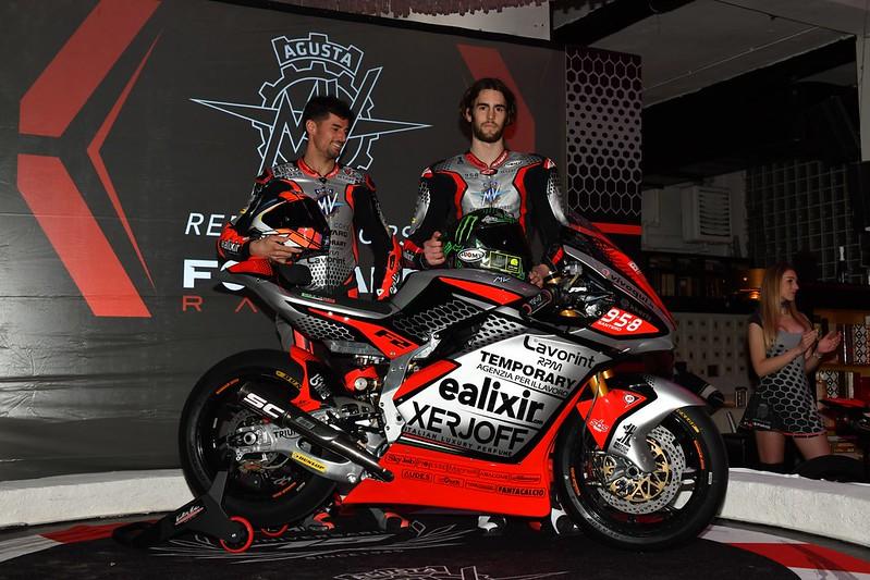Moto2 | Presentato il team MV Agusta Forward Racing