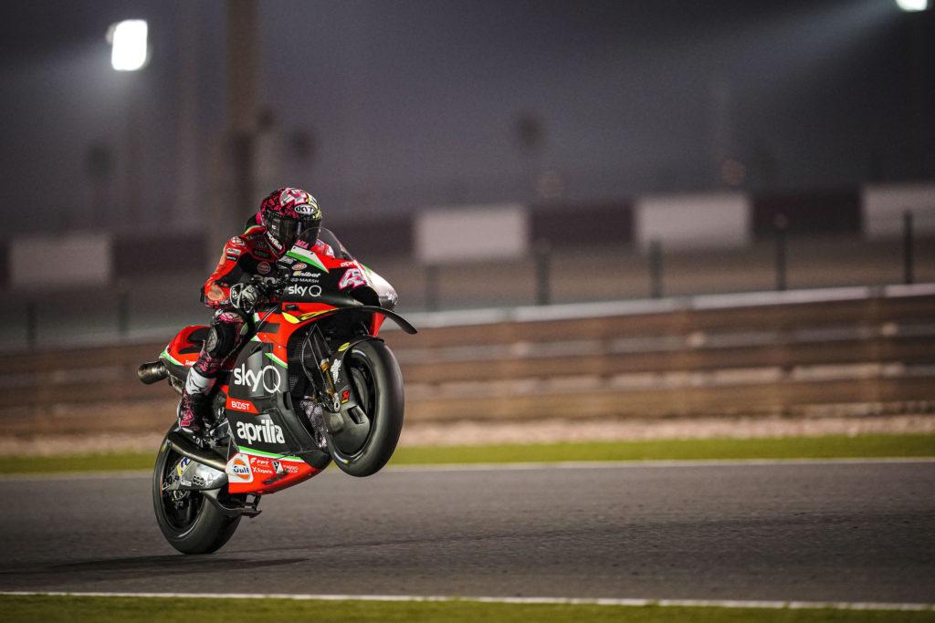 "MotoGP | Test Qatar Day 3: Aleix Espargarò, ""Sono stati tre giorni intensi"""