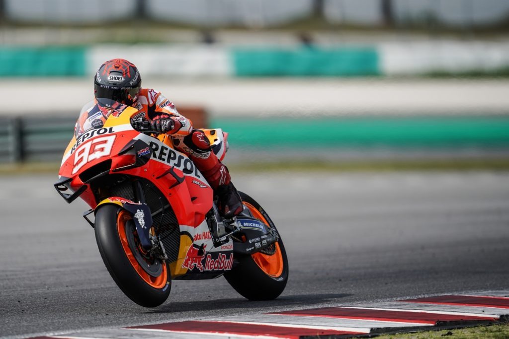 "MotoGP | Test Sepang Day 2: Marc Marquez, ""La spalla ha risposto bene"" [VIDEO]"