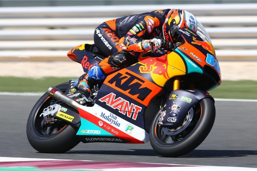 Moto2 e Moto3 | Test IRTA Qatar Day 2: Martin e Salac i più veloci