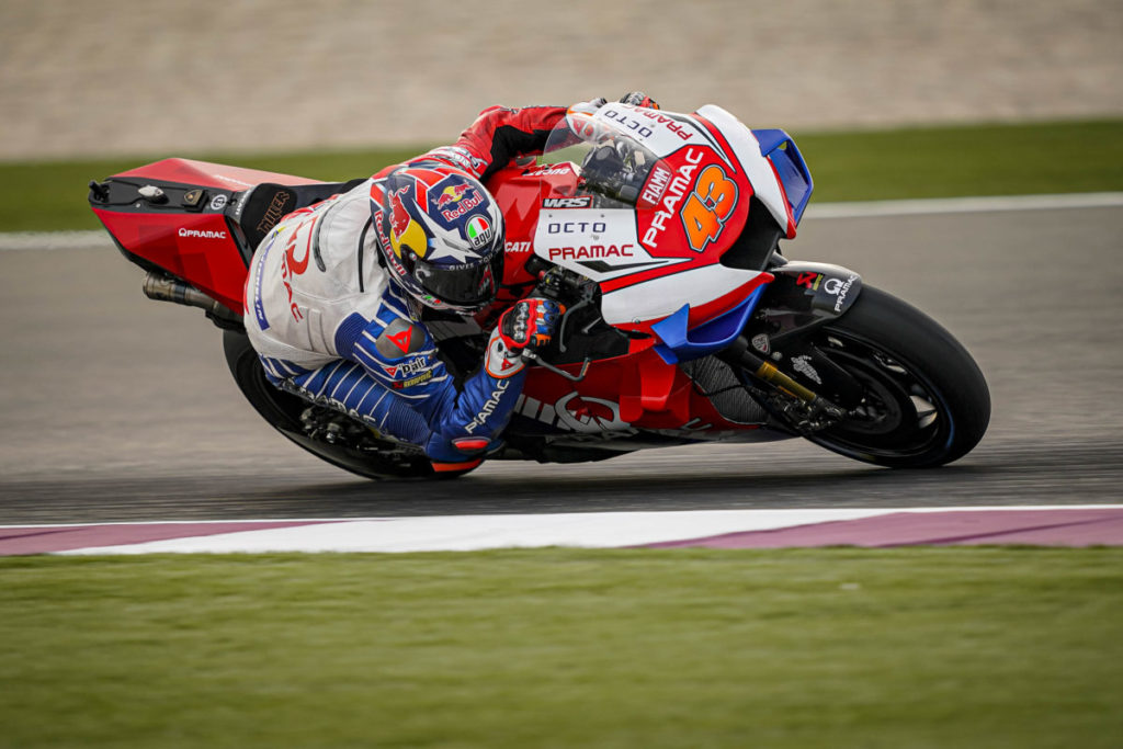 "MotoGP | Test Qatar Day 3: Jack Miller, ""Feeling abbastanza buono"""
