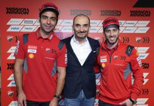 """MotoGP   Claudio Domenicali (Ducati): """"Quanto è importante avere piloti italiani? Diciamo, non molto"""""""