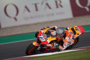 "MotoGP | Test Qatar Day 1: Alex Marquez: ""Sto cercando il limite"""