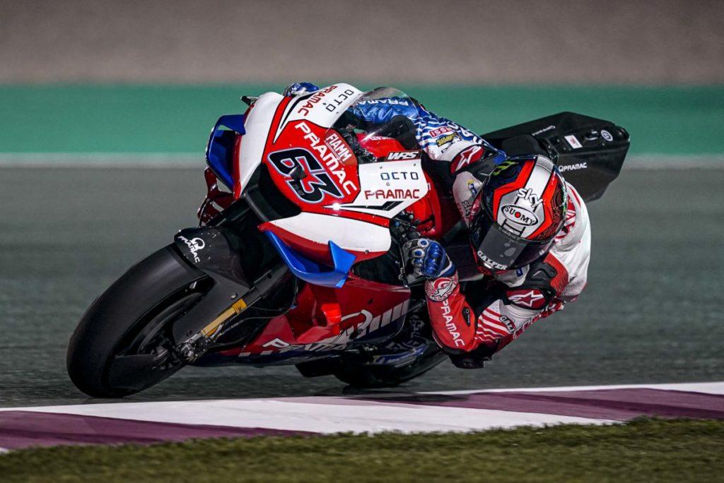 "MotoGP | Test Qatar Day 1: Bagnaia, ""Stiamo seguendo la strada giusta"""
