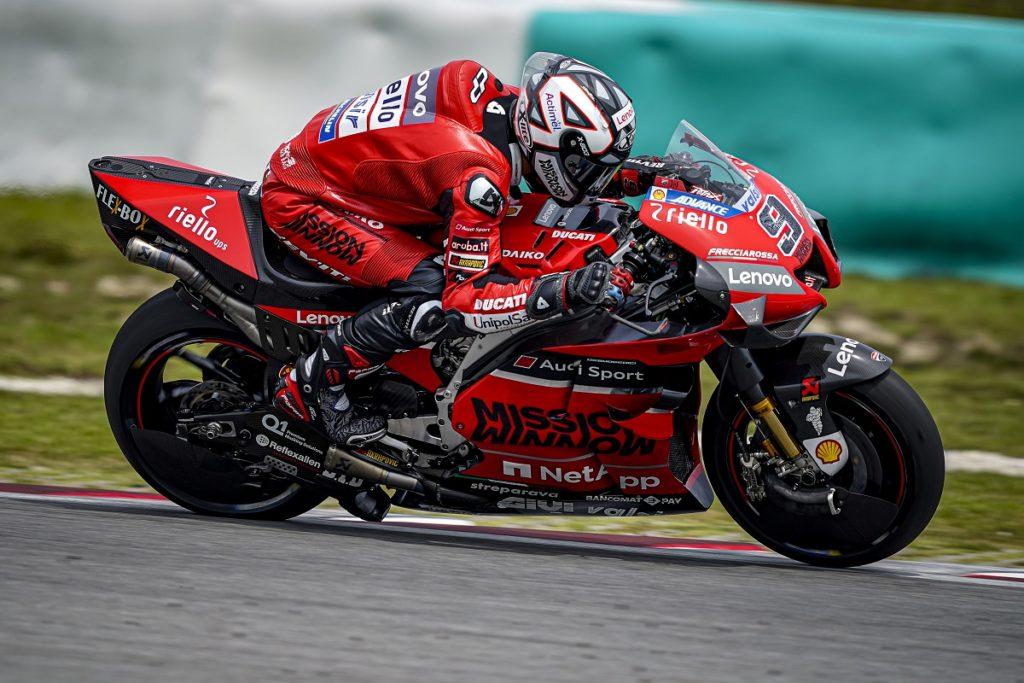 "MotoGP | Test Sepang Day 2: Petrucci, ""Bel passo avanti rispetto a ieri"" [VIDEO]"