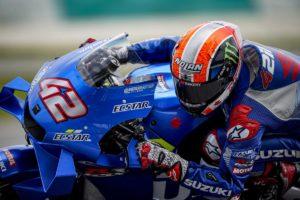 MotoGP | Test Qatar Day 1: doppietta Suzuki con Rins e Mir, Rossi è settimo