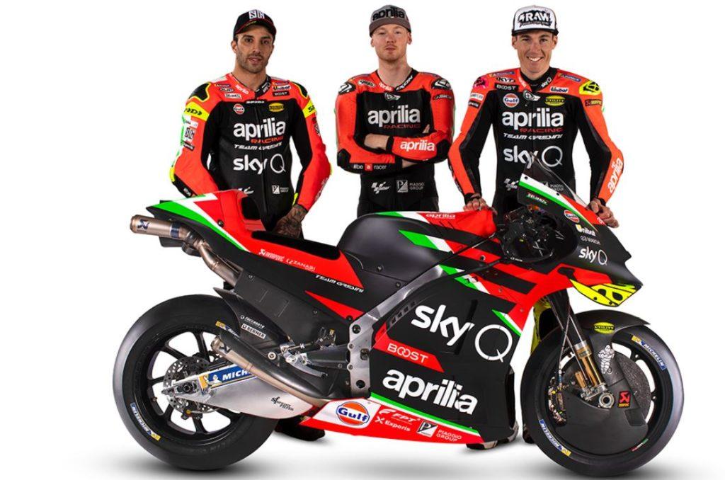 MotoGP   Ecco la nuova Aprilia RS-GP [VIDEO]