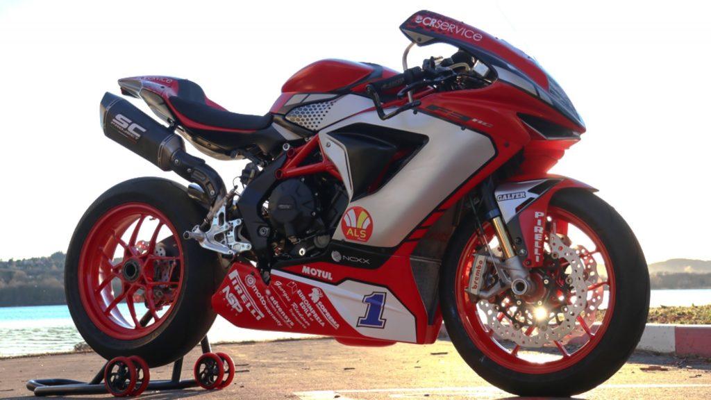 Superbike   Presentazione ufficiale per MV Agusta