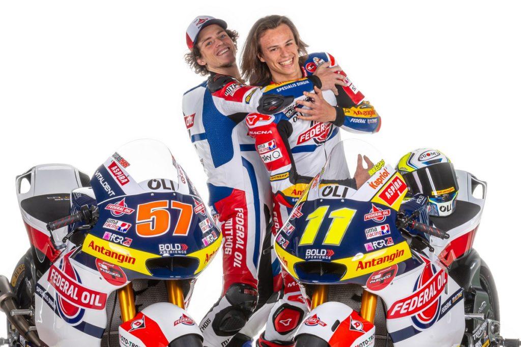 Moto2 | Presentato il team Gresini, in pista Nicolò Bulega ed Edgar Pons