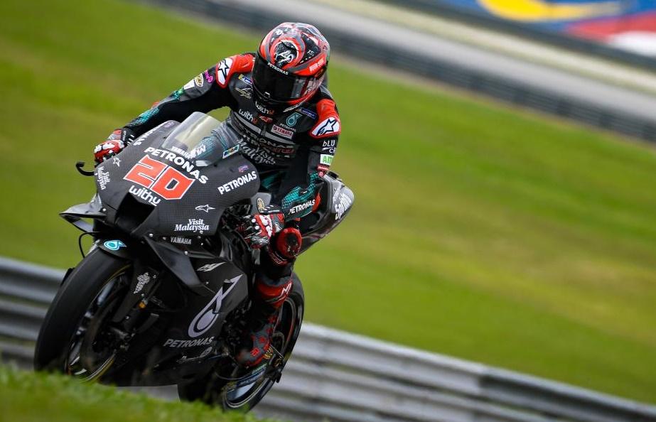 MotoGP   Test Sepang Day 3: Quartararo chiude in vetta, Rossi è quinto