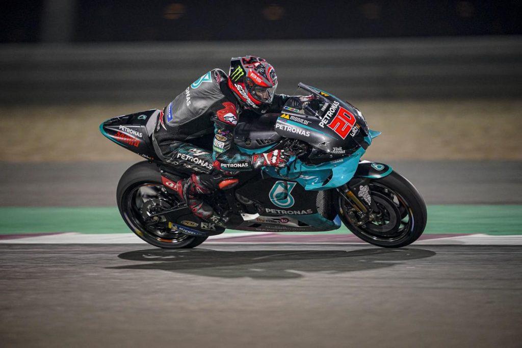 """MotoGP   Test Qatar Day 3: Quartararo, """"Sono molto contento della simulazione gara"""" [VIDEO]"""