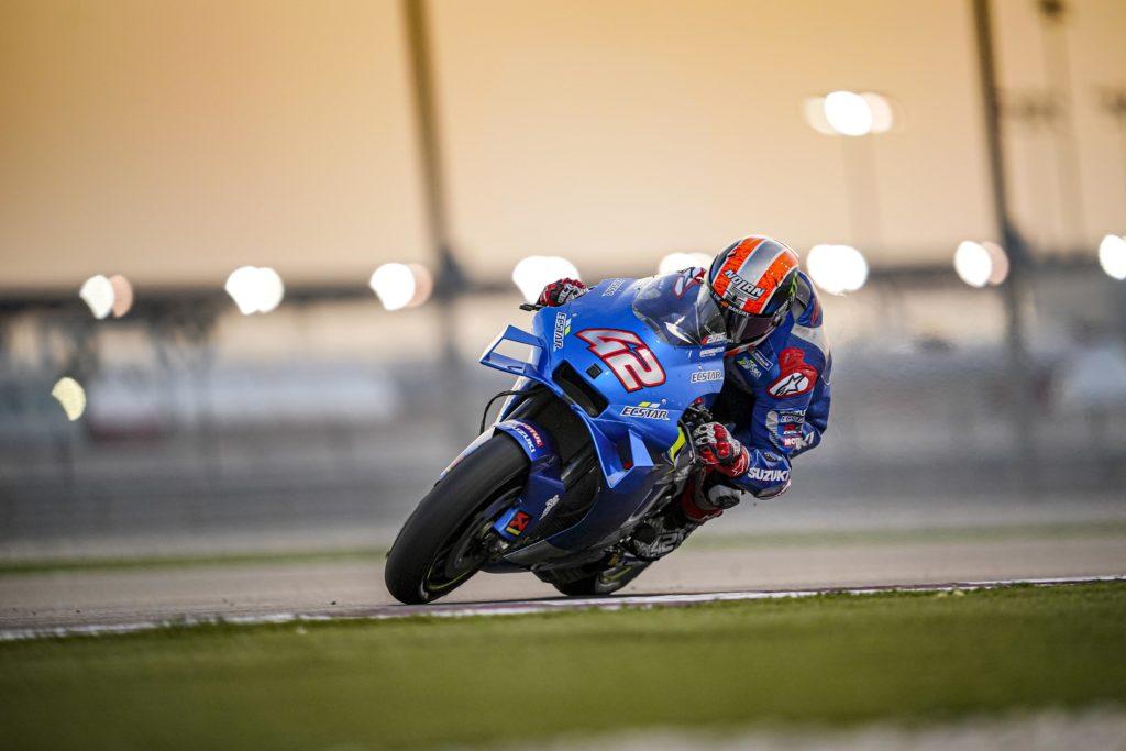 "MotoGP   Test Qatar Day 3: Alex Rins, ""Posso ritenermi felice"""