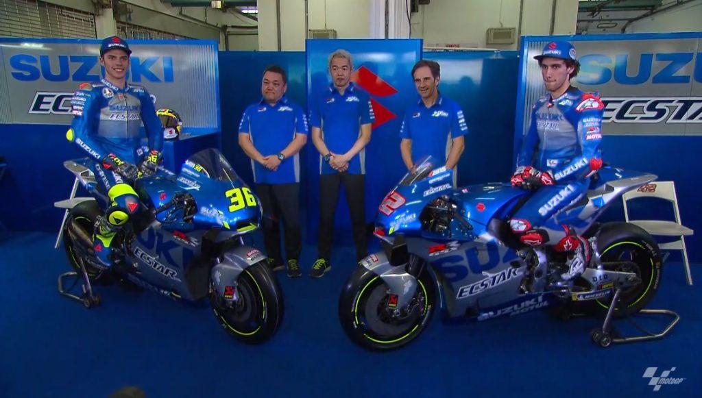 MotoGP | Segui live streaming la presentazione della Suzuki di Alex Rins e Joan Mir