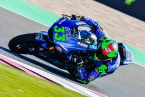 """Moto2   GP Qatar Gara: Bastianini, """"L'importante è continuare così"""""""