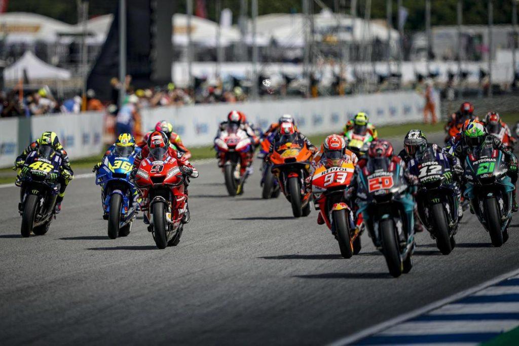 Il nuovo calendario della MotoGP: GP di Thailandia il 4 ottobre