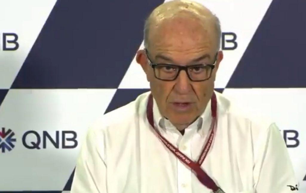 """MotoGP   Cancellazione GP Qatar: Ezpeleta (Dorna), """"Le abbiamo provate tutte per far disputare il GP"""" [VIDEO]"""