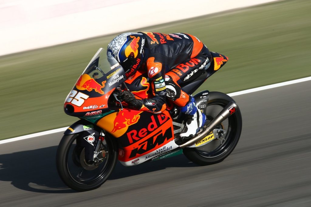 Moto3   Gp Qatar FP2: Fernandez davanti a Binder, Arbolino è sesto [VIDEO]