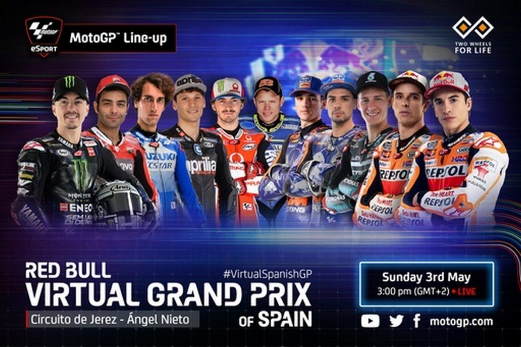 """MotoGP   eSport Jerez: Assente Valentino Rossi, Petrucci e Bagnaia in """"pista"""""""