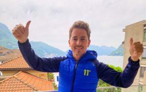 "MotoGP   Coronavirus: Jorge Lorenzo, ""Bello tornare a casa"""