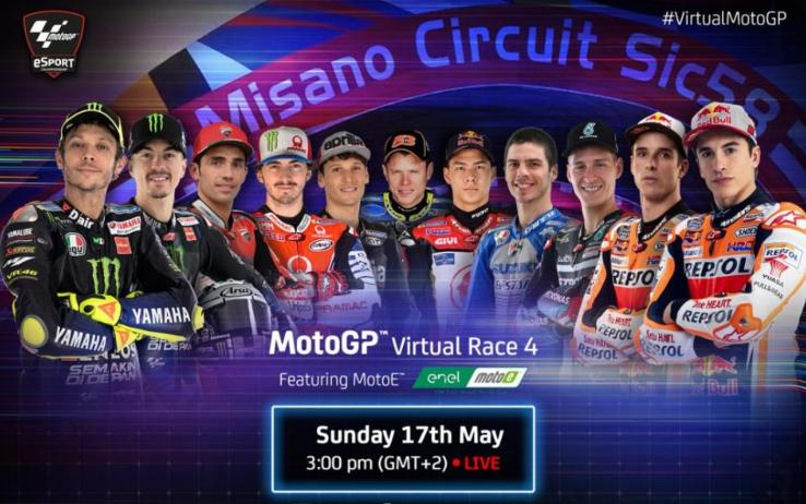 MotoGP | eSport Misano: Alex Marquez batte Marc in volata!