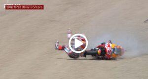 MotoGP   Marc Marquez, la Honda conferma, a Jerez per correre [VIDEO]